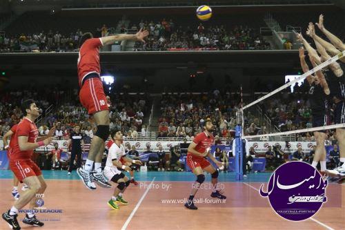 تیم ملی والیبال ایران یک بار دیگر آمریکا را شکست داد