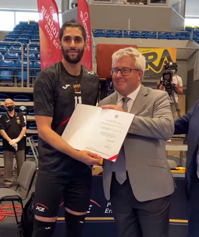 گفت و گو با میلاد عبادی پور لژیونر والیبالیست در لیگ لهستان