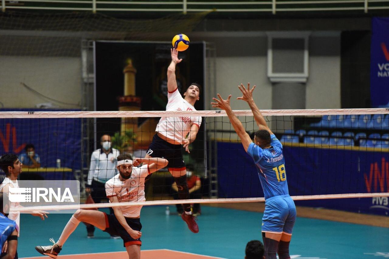 گزارش تصویری دیدار تیمهای والیبال شهرداری ارومیه و فولاد سیرجان (عکس)