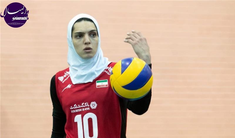 گزارش Fivb از برهانی؛ از عشق به فوتبال تا کاپیتانی والیبال بانوان ایران