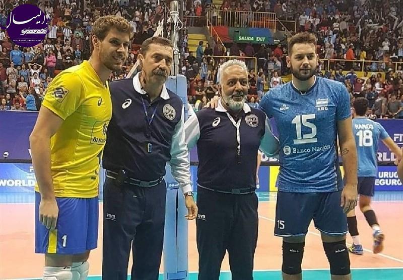 شاهمیری، با سابقهترین داور والیبال جهان شد