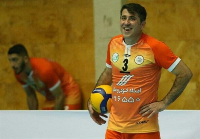 حسینی: امیدوارم دور برگشت لیگ والیبال به صورت متمرکز برگزار شود