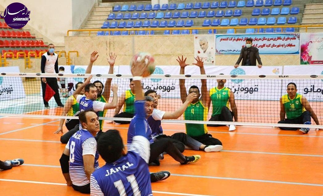 لیگ برتر والیبال نشسته/ پیروزی شهرداری ورامین و شهرداری گنبد در گروه A