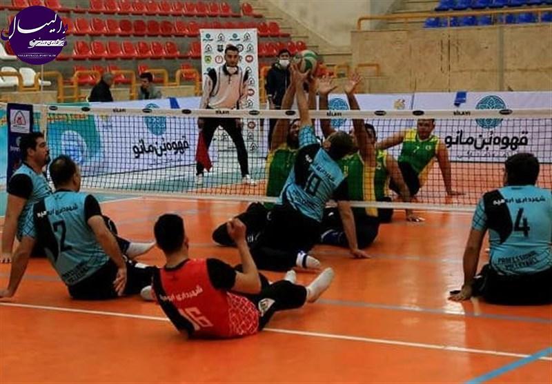لیگ برتر والیبال نشسته / برتری پالایش نفت و شهرداری ورامین مقابل حریفان