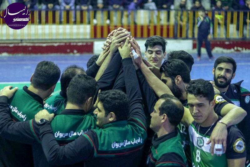 تشکیل دیرهنگام، مهمترین مشکل تیم والیبال راهیاب ملل کردستان است