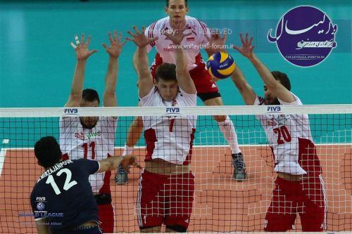 مصاف مردان والیبال ایران با قهرمان جهان