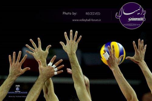تیم ملی والیبال نوجوانان حریفان جهانی خود را شناحت