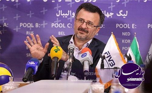 داورزنی:هدف ما موفقیت در مسابقات انتخابی المپیک است.