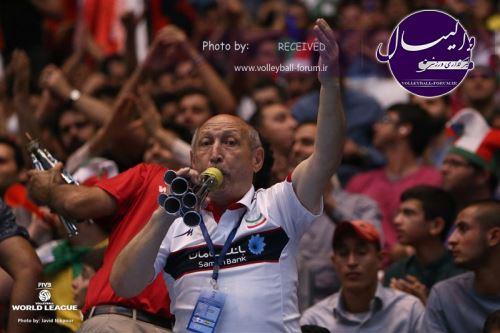 FIVB: تماشاگران ایران فوقالعاده هستند