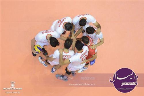 قدردانی رئیس کمیته ملی المپیک از غیور مردان تیم ملی والیبال؛  به امید موفقیتتان در مسابقات کسب سهمی
