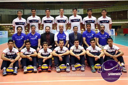 پیروزی نوجوانان والیبال ایران برابر برزیل در تورنمنت سه جانبه رم