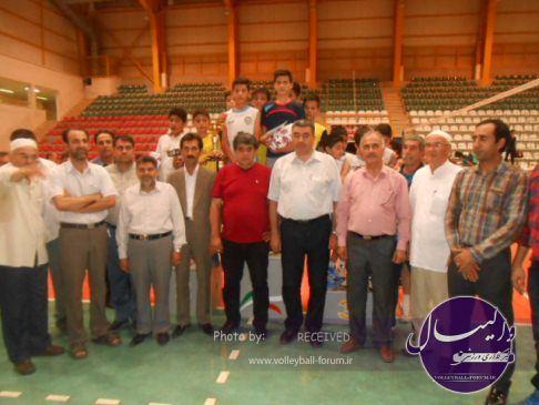 پایان مسابقات والیبال جام رمضان94 رده های سنی در گنبدکاووس