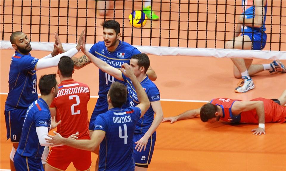 دوگانه فرانسه در قهرمانی لیگ جهانی 2015 / امریکا سوم شد!