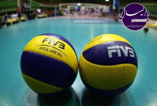 12 مرد والیبال ایران در رقابت های قهرمانی آسیا