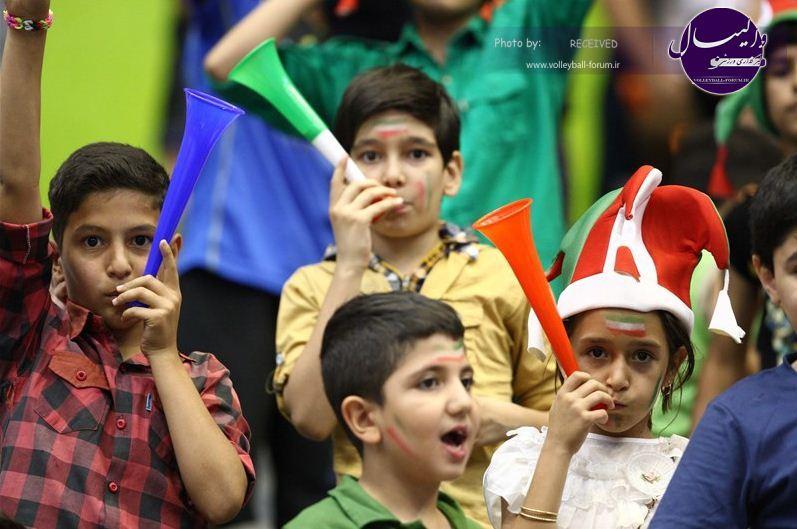 جام هجدهم/گزارش تصویری دیدار ایران و تایلند