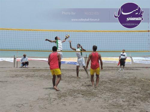 آٰغاز دومین دوره والیبال ساحلی قهرمانی کشور سال ۹۴