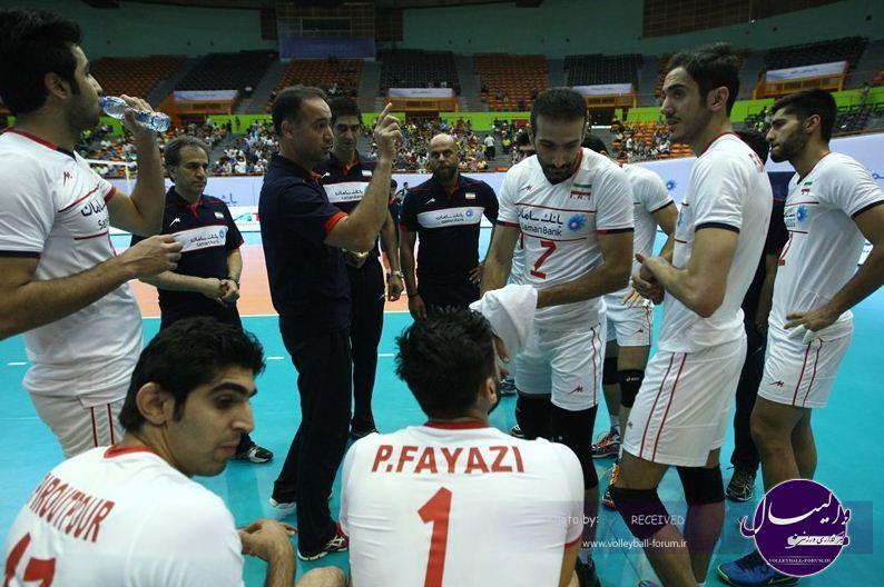 والیبال قهرمانی آسیا2015 / آه و حسرت برای والیبال ایران