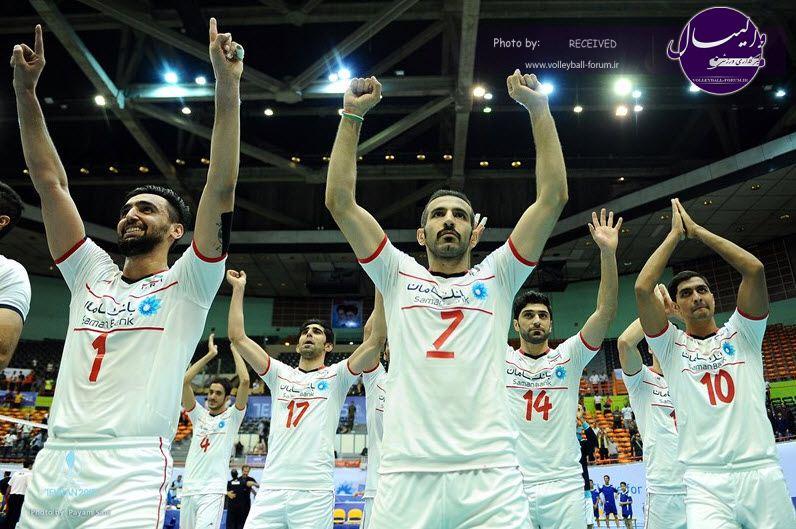 نیمه نهایی جام هجدهم/گزارش تصویری دیدار ایران - چین