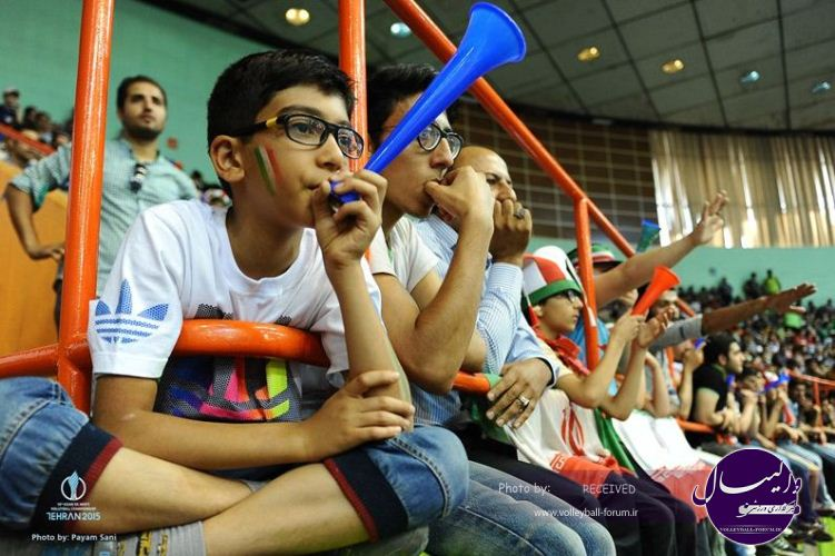 حواشی مراسم اختتامیه والیبال قهرمانی آسیا 2015/ ادب ایرانی