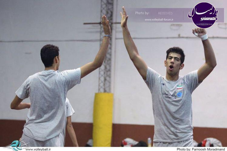 گزارش تصویری روز نخست نوجوانان در رقابت های قهرمانی نوجوانان جهان