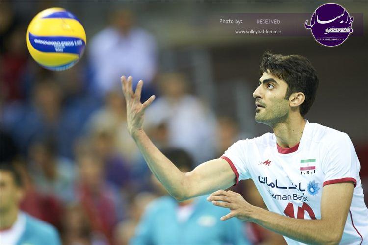 زیباترین امتیازات امیر غفور در مسابقات والیبال (ویدیو)