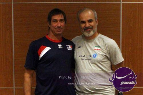 سرمربی فرانسه: برای بازی با ایران بسیار کنجکاو هستم