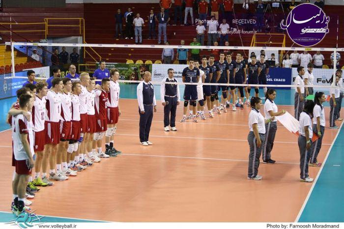 قهرمانی نوجوانان جهان/گزارش تصویری ایران 1-3 لهستان