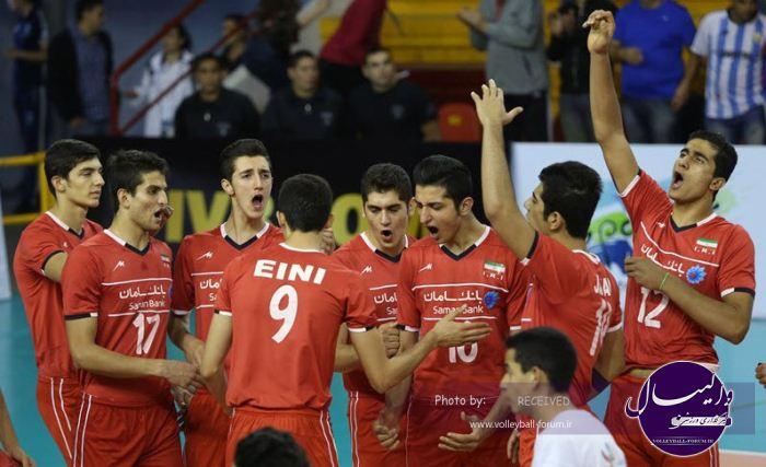 قهرمانی نوجوانان جهان/گزارش تصویری ایران 3-1 روسیه (شماره یک)