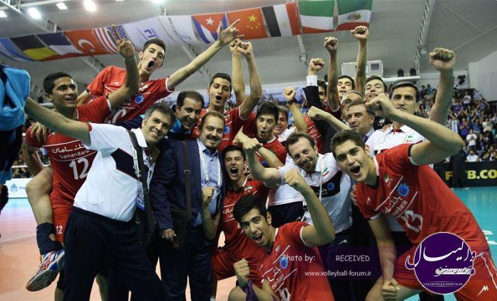 قهرمانی نوجوانان جهان/گزارش تصویری ایران 3-1 روسیه (شماره دو)