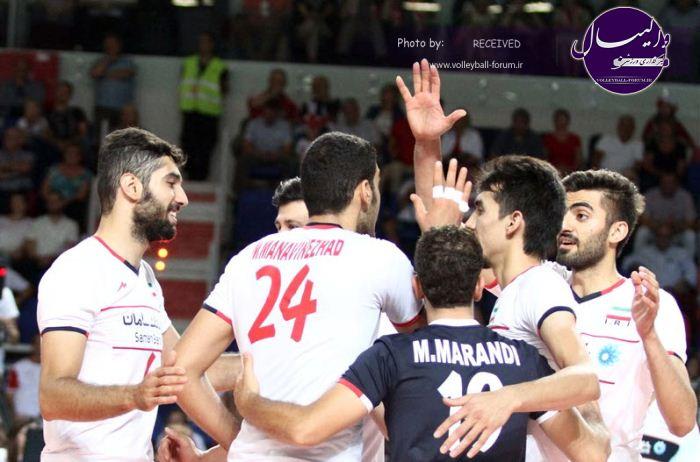 جام واگنر/گزارش تصویری ایران 1 -3 لهستان