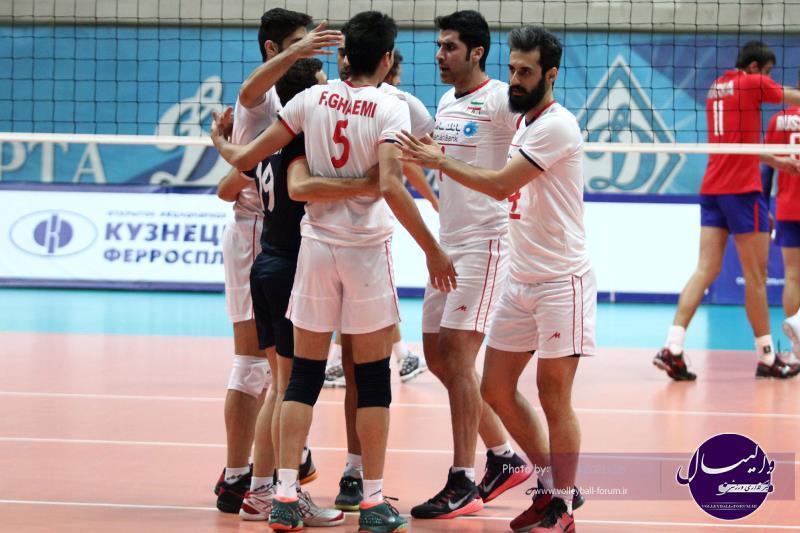دیدار دوستانه ایران 3-2 روسیه (ویدیو)