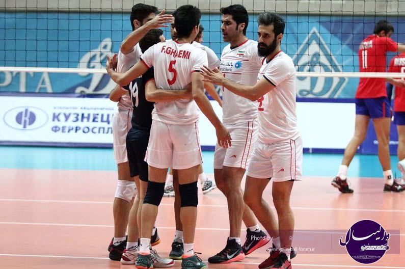 تیم ملی ایران به سومین پیروزی خود در اردوی مسکو رسید