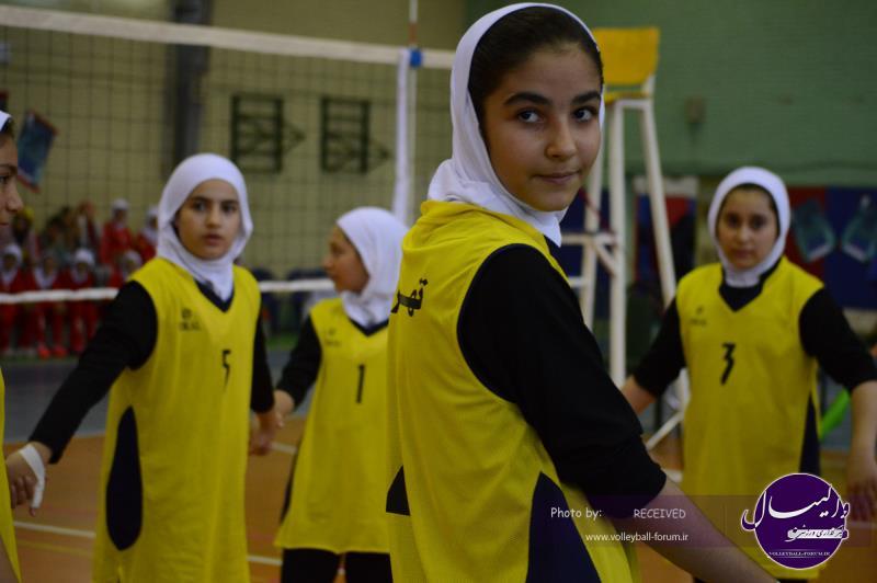 اختتامیه مینی والیبال دختران کشور با حضور سجادی برگزار شد + تصاویر