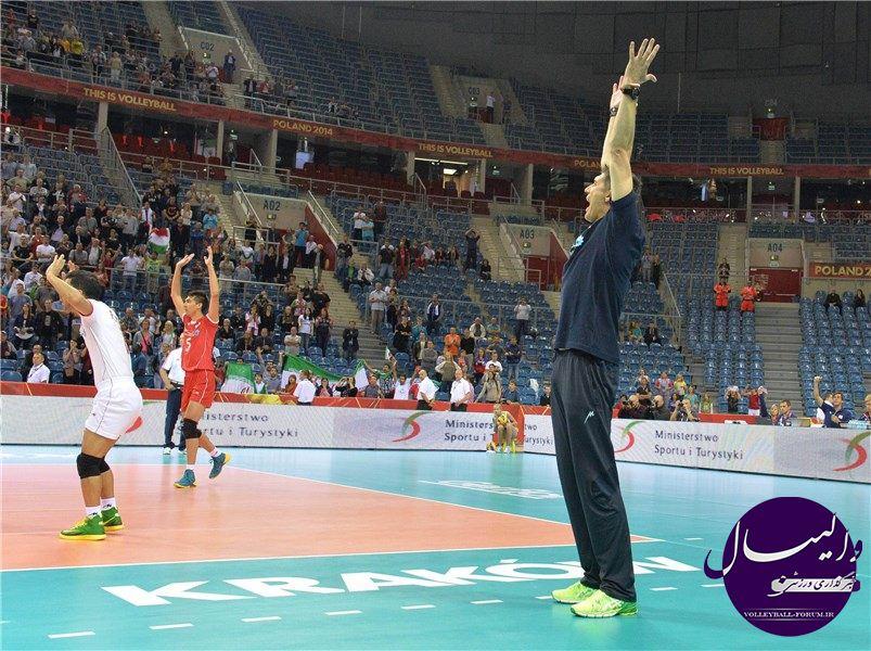 برنامه دیدار های دوستانه تیم ملی والیبال ایران قبل از شروع لیگ جهانی 2015