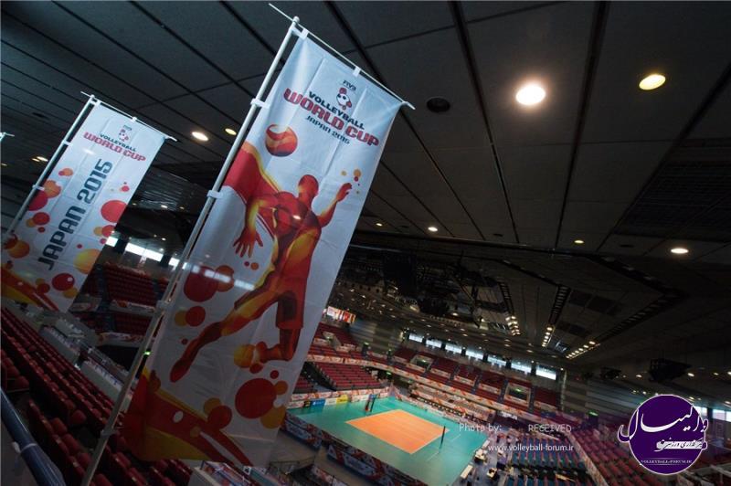 جام جهانی والیبال 2015 ژاپن