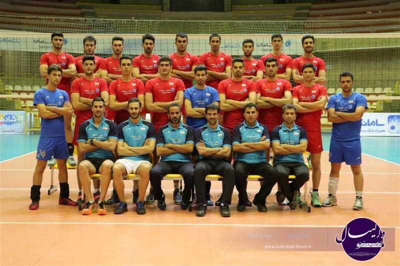 حریفان ایران در قهرمانی جوانان جهان مشخص شدند