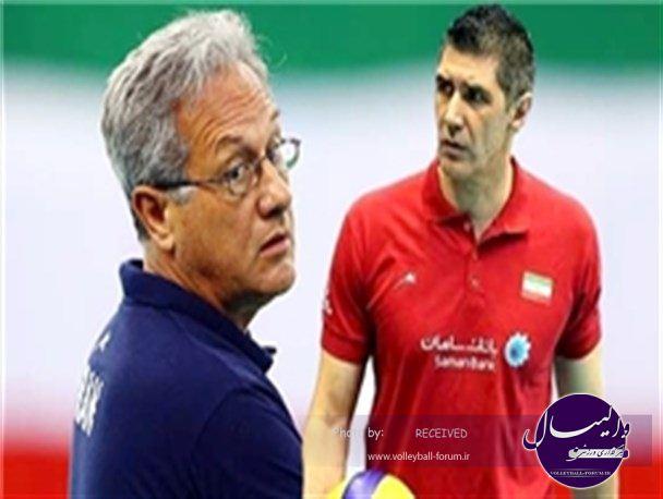 مهرهچینی کواچ و ولاسکو در جام جهانی والیبال