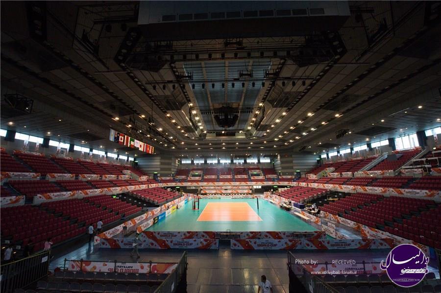 معرفی سالن های محل برگزاری مسابقات جام جهانی ژاپن
