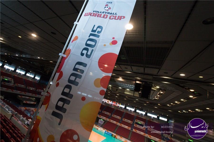 آشنایی با رقابت های جام جهانی والیبال