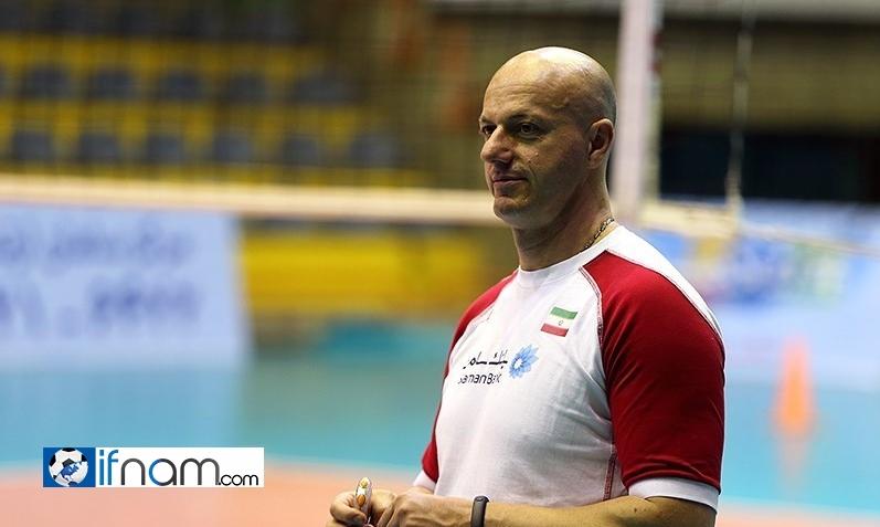 مدال طلای مربی صربستانی تیم ملی والیبال ایران به خانواده سعید هاشمی اهدا شد