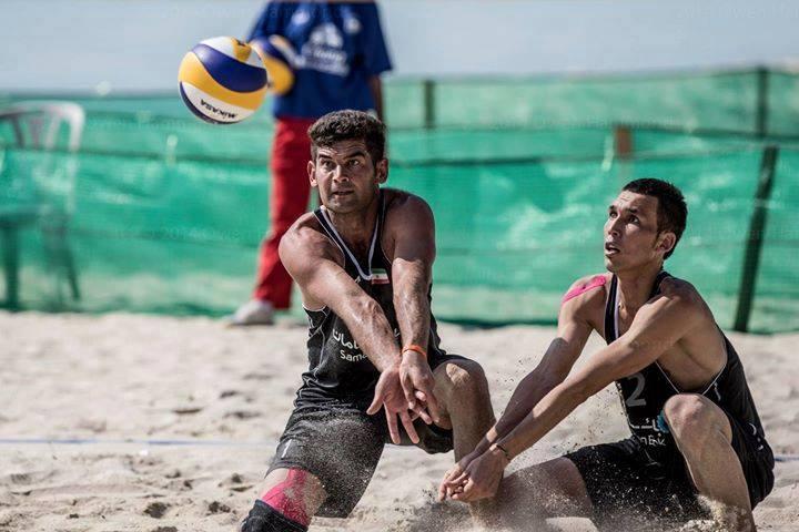 تیم ملی والیبال ساحلی راهی قطر شد