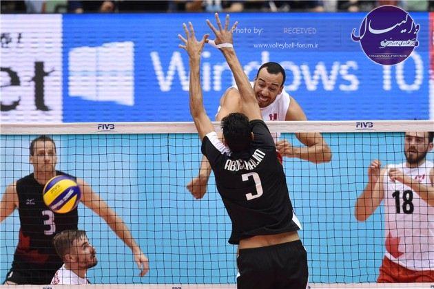پیروزی نفس گیر کانادا در مقابل مصر