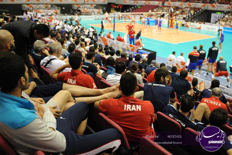 جام جهانی 2015 / ایران و آرژانتین نظاره گر دیدار روسیه و لهستان