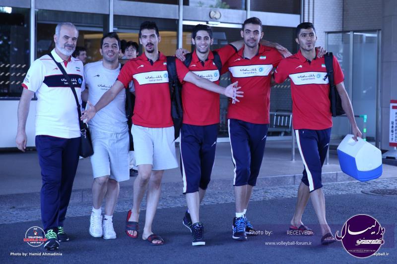 تیم ملی والیبال راهی اوساکا شد