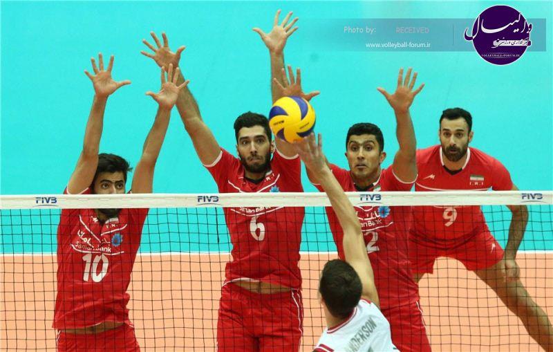 شکست ایران برابر امریکا / فقط یک ست گرفتیم