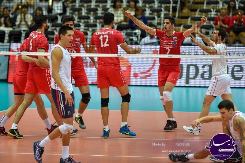 صحبت های بازیکنان دو تیم ایران و امریکا
