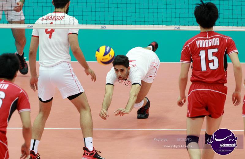 ایران برترین تیم دریافت کننده و سومین مدافع