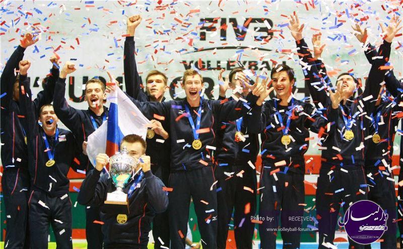 قهرمانی جوانان جهان / روسیه قهرمان جهان شد- ایران در رده ی 12 ایستاد