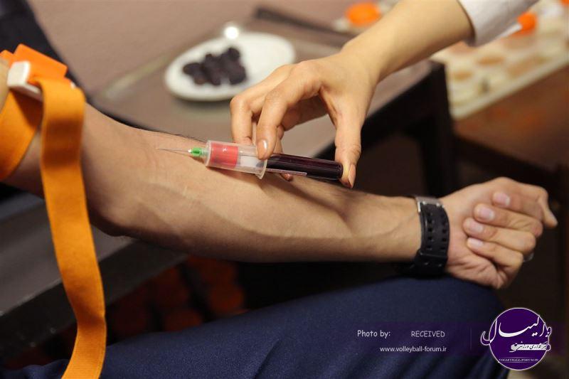 ملی پوشان تست خون دادند
