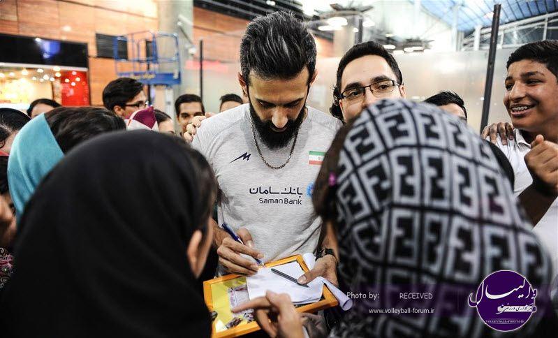 ملی پوشان به تهران بازگشتند